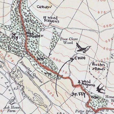 Menston Map - cuckoo