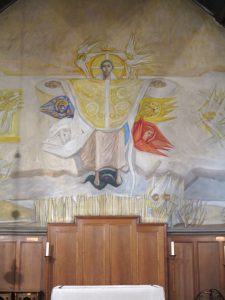 Christ in Glory – mural