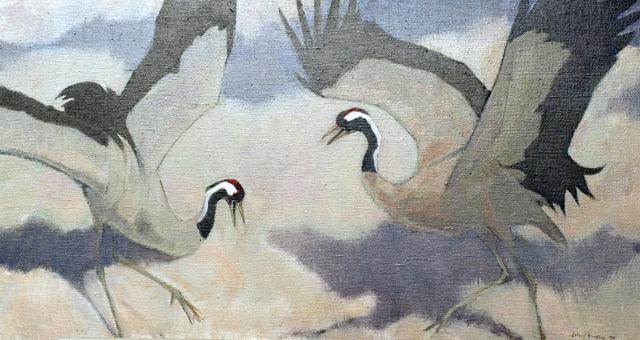 Crane Arabesque 2001