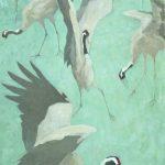 Cranes Dancing 2001