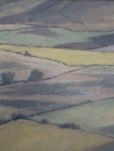 Landscape for a Hunting Kestrel detail1