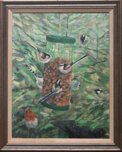 Birds on the Feeder, undated