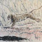 Tiger running 1