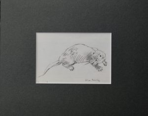 Otter, female by John Busby