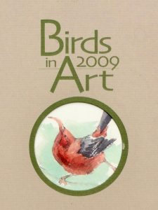 Catalogue front page for Birds in Art 2009