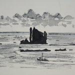 Drongs, Shetland, by John Busby